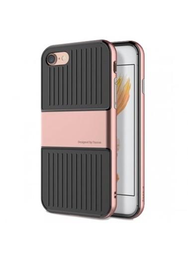 Baseus Iphone 7 / 8 / Se Travel Series Case Kılıf - Roze Gold Renkli
